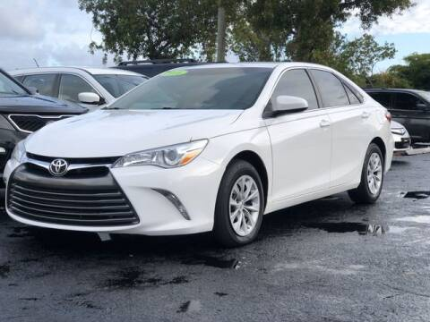 2016 Toyota Camry for sale at BC Motors in West Palm Beach FL
