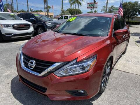 2016 Nissan Altima for sale at BC Motors in West Palm Beach FL