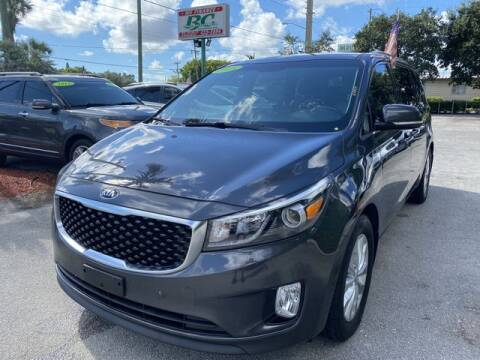 2015 Kia Sedona for sale at BC Motors in West Palm Beach FL