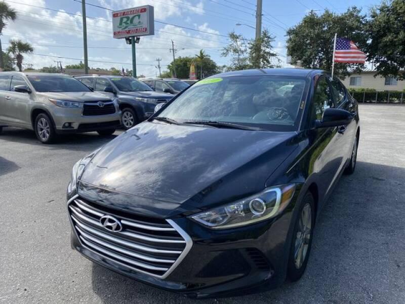2017 Hyundai Elantra for sale at BC Motors in West Palm Beach FL