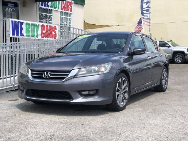 2014 Honda Accord for sale at BC Motors in West Palm Beach FL