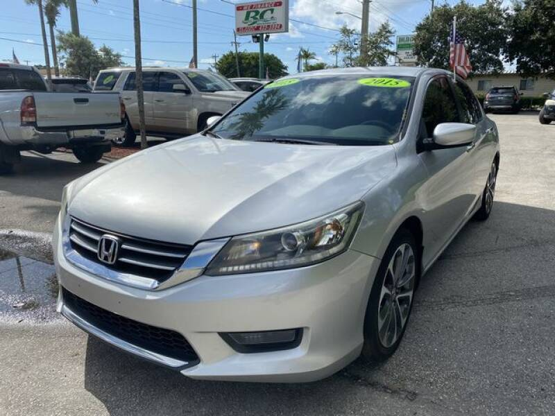 2015 Honda Accord for sale at BC Motors in West Palm Beach FL