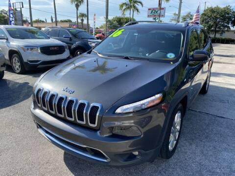 2016 Jeep Cherokee for sale at BC Motors in West Palm Beach FL