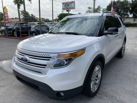 2014 Ford Explorer for sale at BC Motors in West Palm Beach FL