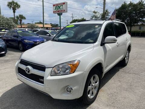 2010 Toyota RAV4 for sale at BC Motors in West Palm Beach FL