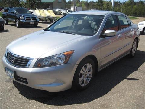 2008 Honda Accord for sale in Pequot Lakes, MN