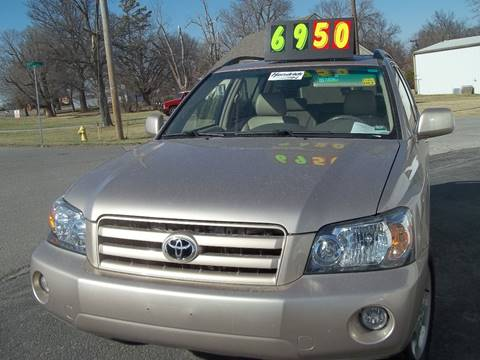 2004 Toyota Highlander for sale at Prestige Automotive Group in Raytown MO