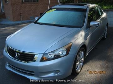 2008 Honda Accord for sale in Edinburg, VA