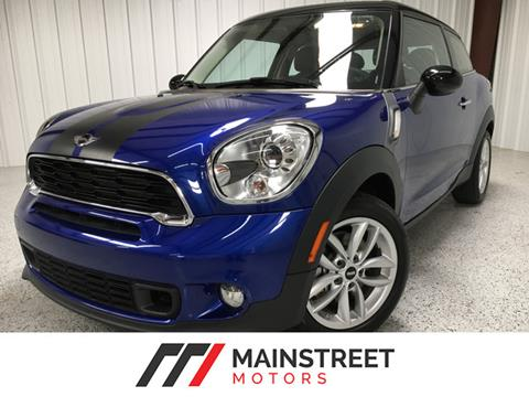 2014 MINI Paceman for sale at Mainstreet Motors in Frisco TX