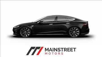 2013 Tesla Model S for sale at Mainstreet Motors in Frisco TX