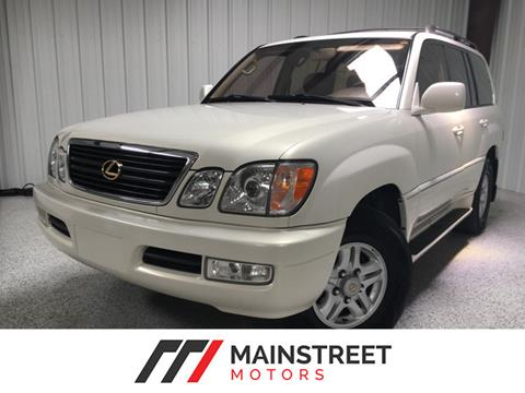 1998 Lexus LX 470 for sale at Mainstreet Motors in Frisco TX