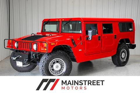 2002 HUMMER H1 for sale at Mainstreet Motors in Frisco TX