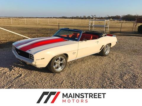 1969 Chevrolet Camaro for sale at Mainstreet Motors in Frisco TX