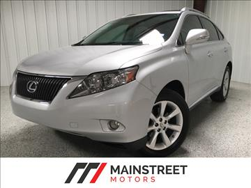 2010 Lexus RX 350 for sale at Mainstreet Motors in Frisco TX