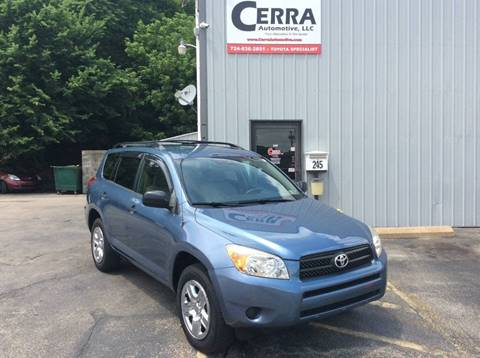 2007 Toyota RAV4 for sale at Cerra Automotive in Greensburg PA