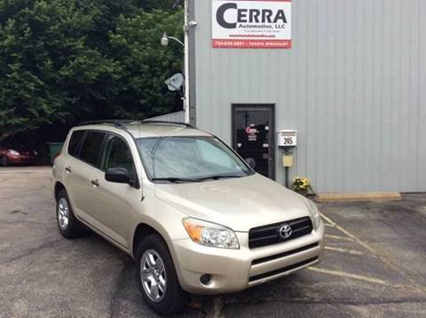 2008 Toyota RAV4 for sale at Cerra Automotive in Greensburg PA