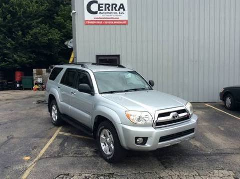 2006 Toyota 4Runner for sale at Cerra Automotive in Greensburg PA