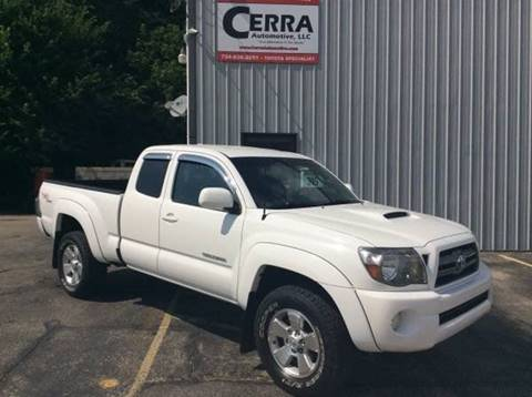 2010 Toyota Tacoma for sale at Cerra Automotive in Greensburg PA