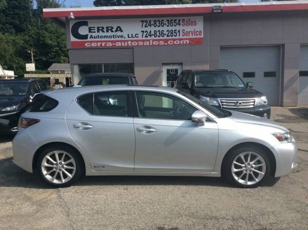 2013 Lexus CT 200h For Sale At Cerra Automotive LLC In Greensburg PA