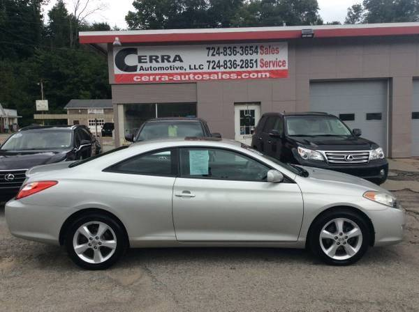 2006 Toyota Camry Solara For Sale At Cerra Automotive LLC In Greensburg PA