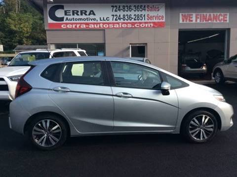2016 Honda Fit for sale at Cerra Automotive LLC in Greensburg PA