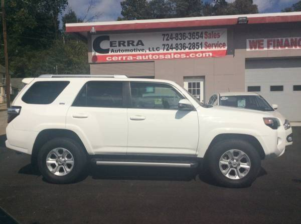 2016 Toyota 4Runner for sale at Cerra Automotive LLC in Greensburg PA