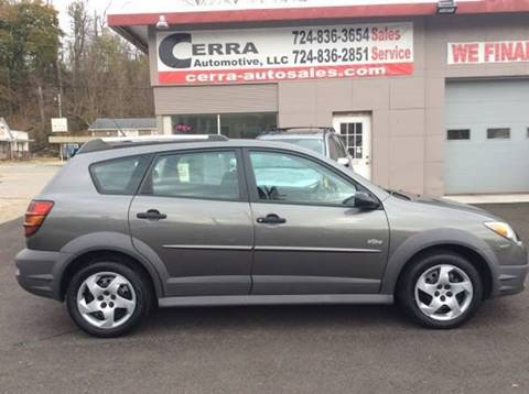 2007 Pontiac Vibe for sale at Cerra Automotive LLC in Greensburg PA