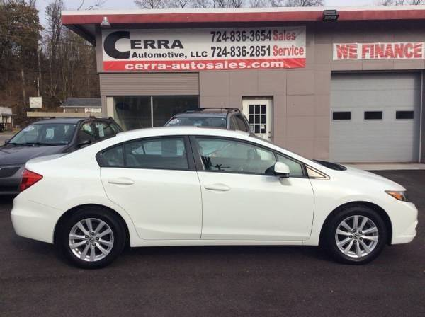 2012 Honda Civic for sale at Cerra Automotive LLC in Greensburg PA