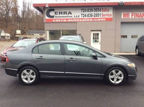 2010 Honda Civic for sale at Cerra Automotive LLC in Greensburg PA