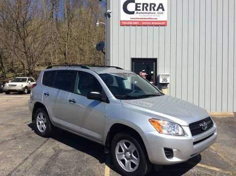 2010 Toyota RAV4 for sale at Cerra Automotive in Greensburg PA