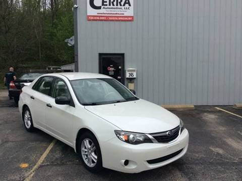 2008 Subaru Impreza for sale at Cerra Automotive in Greensburg PA