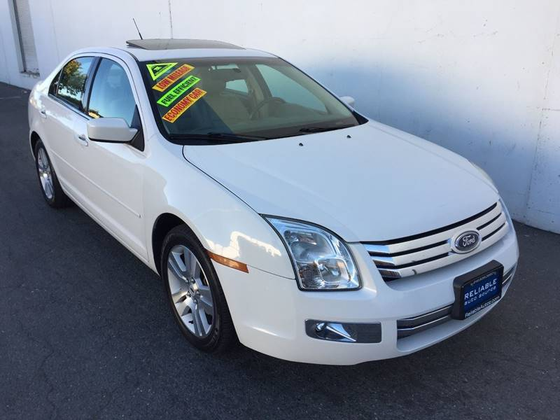 2008 ford fusion v6 sel in sacramento ca reliable auto. Black Bedroom Furniture Sets. Home Design Ideas