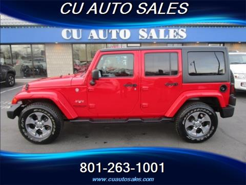 2016 Jeep Wrangler Unlimited for sale in Salt Lake City, UT