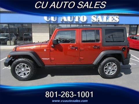 2014 Jeep Wrangler Unlimited for sale in Salt Lake City, UT