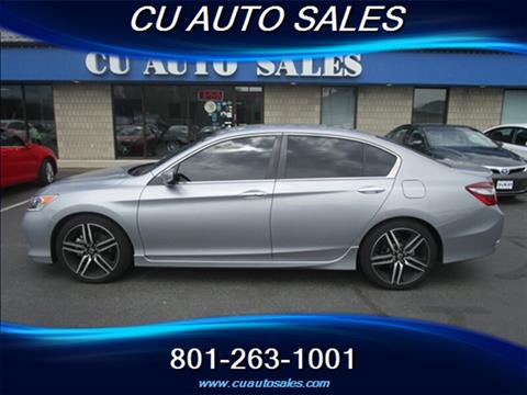 2017 Honda Accord for sale in Salt Lake City, UT