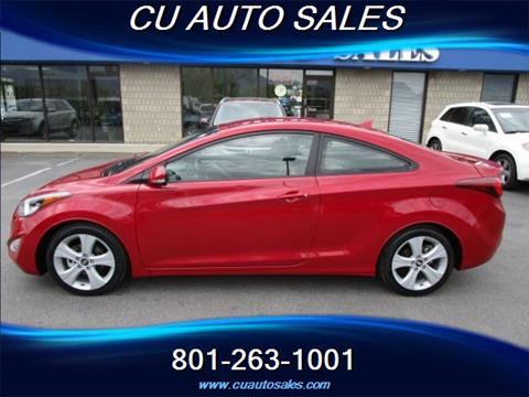 2014 Hyundai Elantra Coupe for sale in Salt Lake City, UT