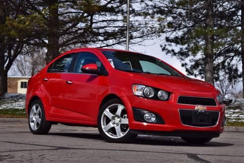 2016 Chevrolet Sonic for sale in Salt Lake City, UT