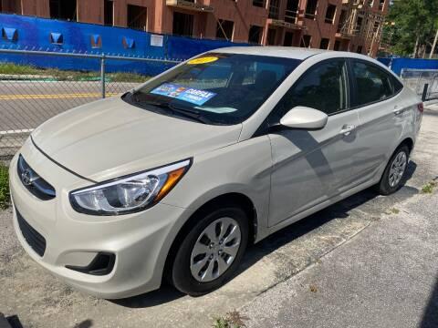 2017 Hyundai Accent for sale at M and M Motors of Tampa LLC in Tampa FL
