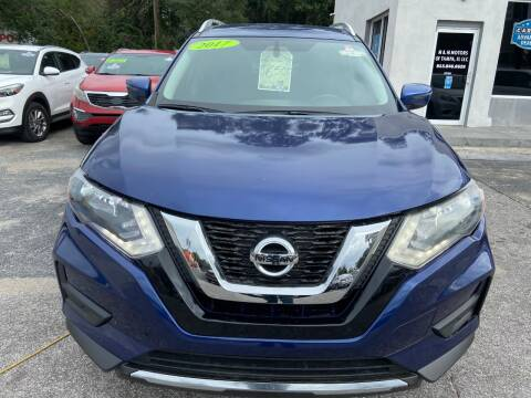 2017 Nissan Rogue for sale at M and M Motors of Tampa LLC in Tampa FL