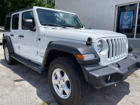 2020 Jeep Wrangler Unlimited for sale at M and M Motors of Tampa LLC in Tampa FL