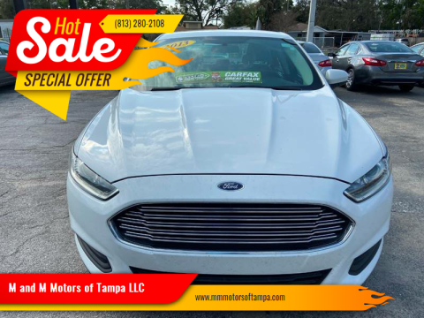 2013 Ford Fusion for sale at M and M Motors of Tampa LLC in Tampa FL