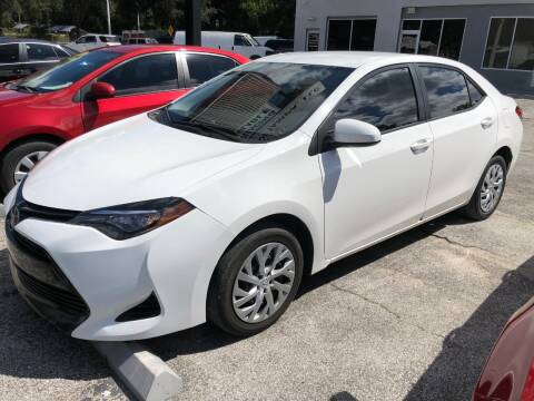 2017 Toyota Corolla for sale at M and M Motors of Tampa LLC in Tampa FL