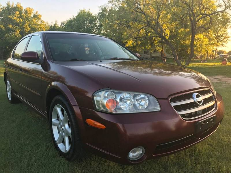 2003 Nissan Maxima For Sale At JACOBu0027S AUTO SALES In Kyle TX