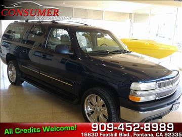 2001 Chevrolet Suburban for sale in Fontana, CA