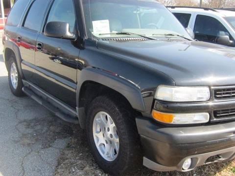 2004 Chevrolet Tahoe for sale in Winston Salem, NC