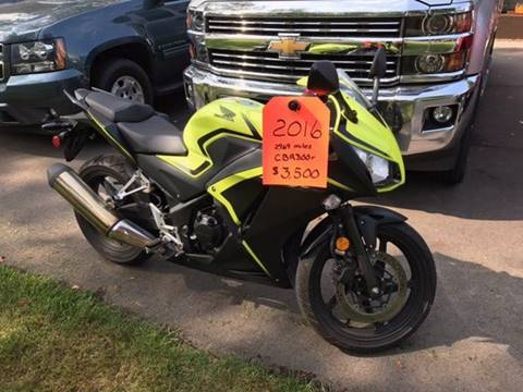 2016 Honda CBR300r for sale in North Muskegon MI