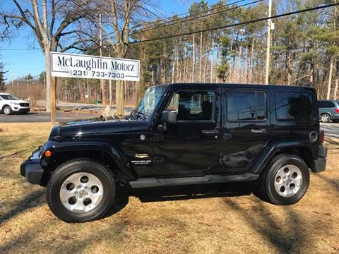 2014 Jeep Wrangler Unlimited for sale in North Muskegon, MI