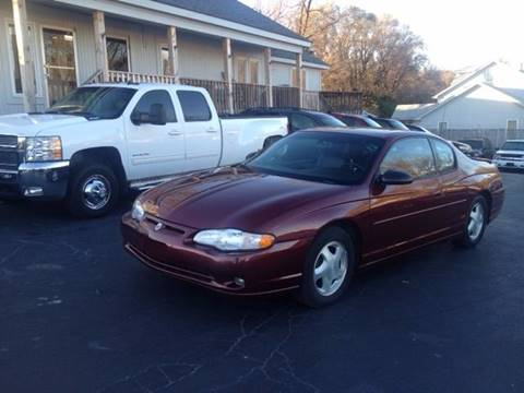 2001 Chevrolet Monte Carlo for sale in Kansas City, KS