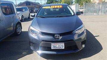 2016 Toyota Corolla for sale in Tracy, CA