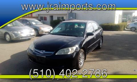2005 Honda Civic for sale in Tracy, CA